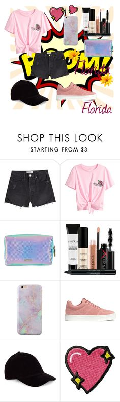 """""""Untitled #124"""" by floridanuha ❤ liked on Polyvore featuring Frame, Skinnydip, Smashbox, H&M and Stoney Clover Lane"""
