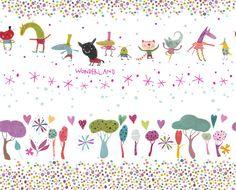 Wonderland : illustrator and pattern designer