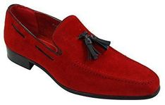 Mens Suede Loafers Driving Shoes Slip On Tassle Design Leather Smart Casual: : Shoes… - http://sorihe.com/mensshoes/2018/02/13/mens-suede-loafers-driving-shoes-slip-on-tassle-design-leather-smart-casual-shoes/
