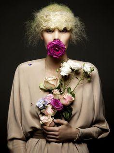 Yvonne Eriksen for AvantGarde December 2011 by Isabel Watson