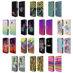 HEAD CASE DESIGNS TREND MIX LEATHER BOOK WALLET CASE COVER FOR MOTOROLA PHONES | eBay