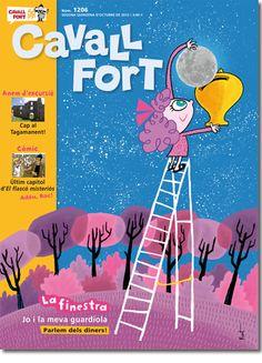 2a quinzena d'octubre 2012. Podeu veure el sumari de la revista aquí mateix: http://www.cavallfort.cat/cavallfort/ca/cavall-fort/1206.html