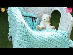 Crochet Crocodile Stitch Afghan Tutorial
