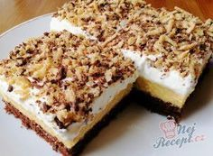 Sweet Recipes, Cake Recipes, Czech Recipes, Gateaux Cake, Pavlova, Graham Crackers, No Bake Cake, Sweet Tooth, Cheesecake