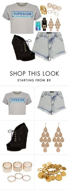 """""""Untitled #653"""" by bianca13-i ❤ liked on Polyvore featuring Être Cécile, The Fifth Label, Diane Von Furstenberg, Irene Neuwirth, Wet Seal, Chanel, Samsung and Fendi"""