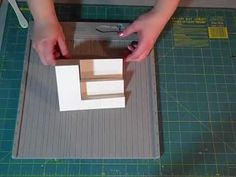 ▶ How to make an A6 Side Step Card - YouTube