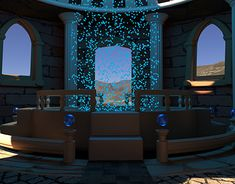 magical portal created in Blender. Blender 3d, Another World, Portal, Behance, Gallery, Creative, Check, Roof Rack