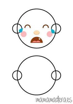 Caras de emociones para descargar - MamaMadera.es Emotion, Reggio Emilia, Light Table, Smurfs, Free Printables, Activities For Kids, Hello Kitty, Crafts, Homeschooling
