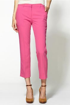 Hot pink trousers from Sanctuary at Piperlime-love these with my with my white sweater and new sandals!!