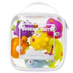 Elegant Baby Snorkel Party Squirtie Set of 6 Bath and Pool Toys at London Jewelers in our Gift Gallery!