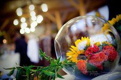 Dekoracja w kuli. #wedding #decoration