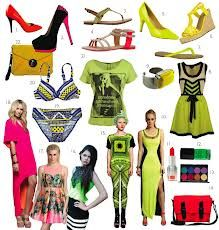 neon fashion - Google Search