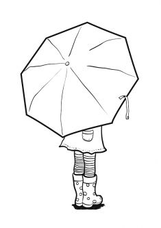 Best 12 Girl Holding an Umbrella Spring Coloring Page – SkillOfKing. Art Drawings For Kids, Art For Kids, Snowflake Drawing Easy, Spring Coloring Pages, Spring Art Projects, Easy Canvas Art, Umbrella Art, Winter Crafts For Kids, Art Lessons Elementary
