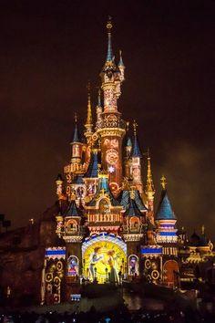 Sleeping Beauty's castle in Disney Land Paris