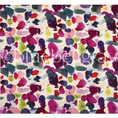 Abstract  favourite Bluebell Gray fabric...