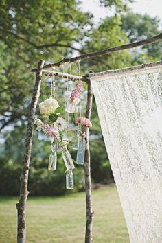 Hängende Dekorationen für Ihre Hochzeit Image: 8