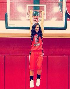 Basketball Senior Pic