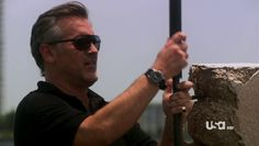 """Burn Notice 4x12 """"Guilty as Charged"""" - Sam Axe (Bruce Campbell)"""