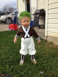 Oompa Loompa - Levi is too cute. I went back to show it so many times I just pinned it!