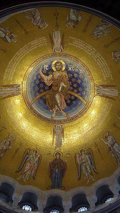 Prayers and how to pray Byzantine Architecture, Sacred Architecture, Catholic Art, Religious Art, Religion, Byzantine Art, Byzantine Mosaics, Christian Artwork, Christian Church