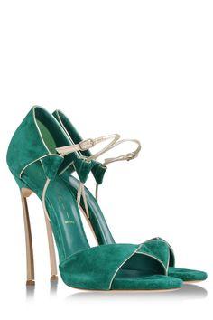 cfba858c2bd3 Shop Women s Casadei Sandal heels on Lyst. Track over 2085 Casadei Sandal  heels for stock and sale updates.