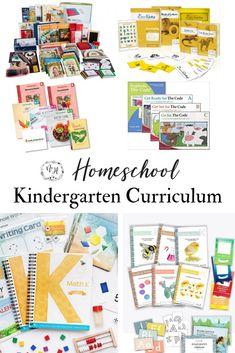 Kindergarten Homeschool Curriculum + Resources