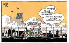 Tasos Anastasiou with a rather edgy cartoon on the Danish proposal to confiscate immigrants' valuables: http://www.cartoonmovement.com/cartoon/26721