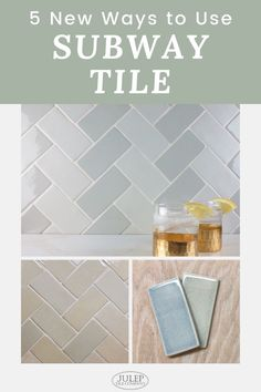 Discover five creative ways for you to incorporate subway tile into your next bathroom or kitchen renovation. Check out these incredible projects and allow them to inspire you as you tackle your remodel! Beautiful Bathrooms, Beautiful Kitchens, Home Decor Inspiration, Kitchen Inspiration, Kitchen Ideas, Kitchen Decor, Decor Ideas, Subway Tile Kitchen, Subway Tiles