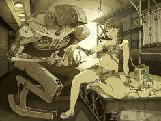 -Bajo reparación- Illustrator,Tatsuyuki Tanaka ~