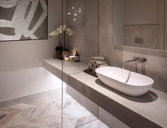 Bathroom Design Luxury, Modern Bathroom, Small Bathroom, Bathroom Design Inspiration, Design Ideas, Laundry In Bathroom, Bathroom Sinks, Bathroom Colors, Bathroom Styling