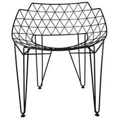 Apollo Wire Dining Chair