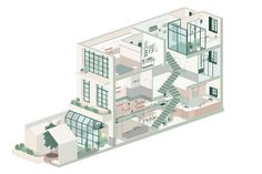 The Best Architecture Drawings of 2017,© RIGI Design