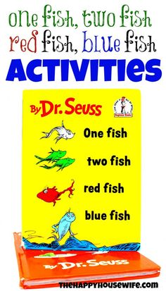 31 Days Of Read Alouds One Fish Two Red Blue