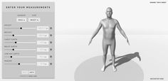 I was just hoping something like this existed since I suck at drawing forms! It's not like it will be an exact replica of your body, but since it takes all your measurements into consideration, it's extremely helpful for visualizing and drafting patterns, etc.