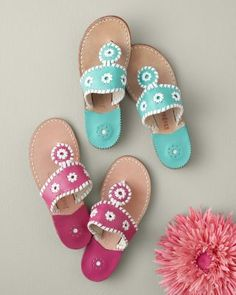 Jack Rogers Girls Palm Beach Sandals