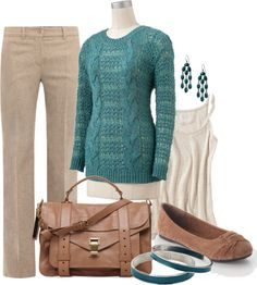 """""""Casual Office Attire"""" by ailunsford ❤ liked on Polyvore"""