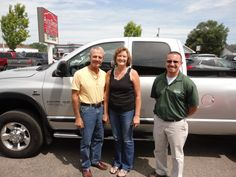 "All the way from Corydon, Indiana Welcome Mark and Gayle Wernert ""Pictured with Brandon Ley""! Congratulations on their purchase of an AWESOME new Dodge Ram 2500 SLT 4X4! A BIG thanks from the Auto Group! We really appreciate the opportunity to earn your business and hope you enjoy your new truck!"