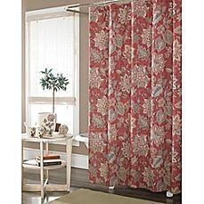 Bombay Garrison Rod Pocket Back Tab Window Curtain Panel