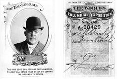 Wegbereiter des Automobils in der Neuen Welt: Ausstellerausweise von Gottlieb Daimler für die Weltausstellung 1893 in Chicago, USA.