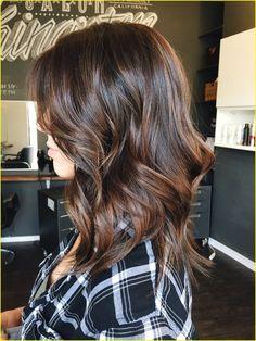 Brunette hair color 00016