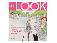 Workman Publishing The Look Coloring Book