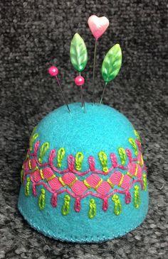 Jumbo Bottlecap Pincushion
