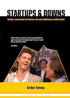 Startups & Downs (Nederlands/Dutch)  Dit is een zeer interessant boek over de ervaring van Arthur Tolsma tijdens zijn 'gefaalde' bedrijf. Hij neemt je pakkend mee en uiteindelijk ben je heel wat lessen wijzer over ondernemerschap.