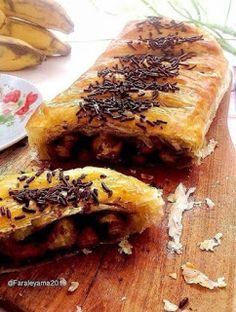 Resep Pastry, Roti Bread, Resep Cake, Fudgy Brownies, Strudel, Dessert Recipes, Desserts, Yummy Cookies, Food And Drink