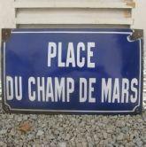 Antique street sign