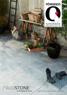 Tuintegels :: VT-Wonen Buitentegels :: Duostone Mold Grit - Lek Tuinmaterialen