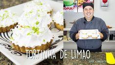 Tortinha de limão por Marcelo Bellini - Dica #26