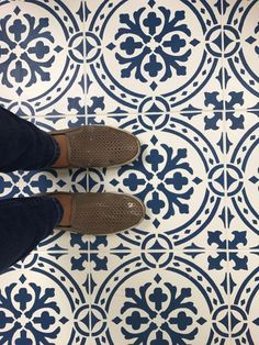 Everything You Need To Know To Paint A Floor With A Tile Stencil