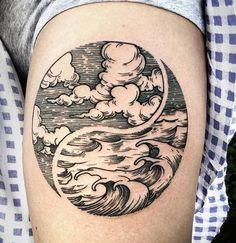Pin Von Frank Huskey Auf Tattoo S Wolken