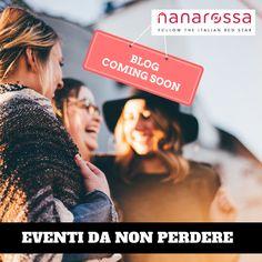 Il Blog di #nanarossa sta arrivando! C'è sempre una mostra, un concerto, un evento da non perdere,  Te lo raccontiamo noi! #diccilatua